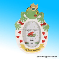 2 x 3 Inch My Frog Prince Has Come Kissing Frog Picture Frame