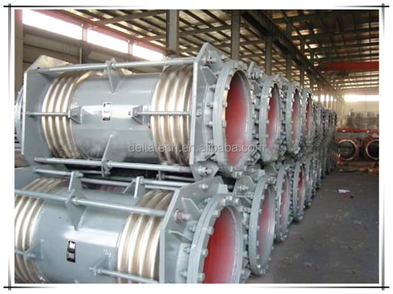 Stainless steel metal bellows compensator sliding type