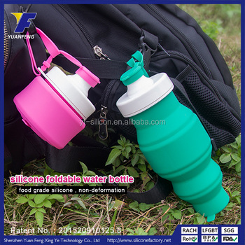 china factory silicone cool drink bottles