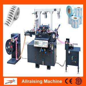 High Speed Adhesive Sticker Roller Die Cutter