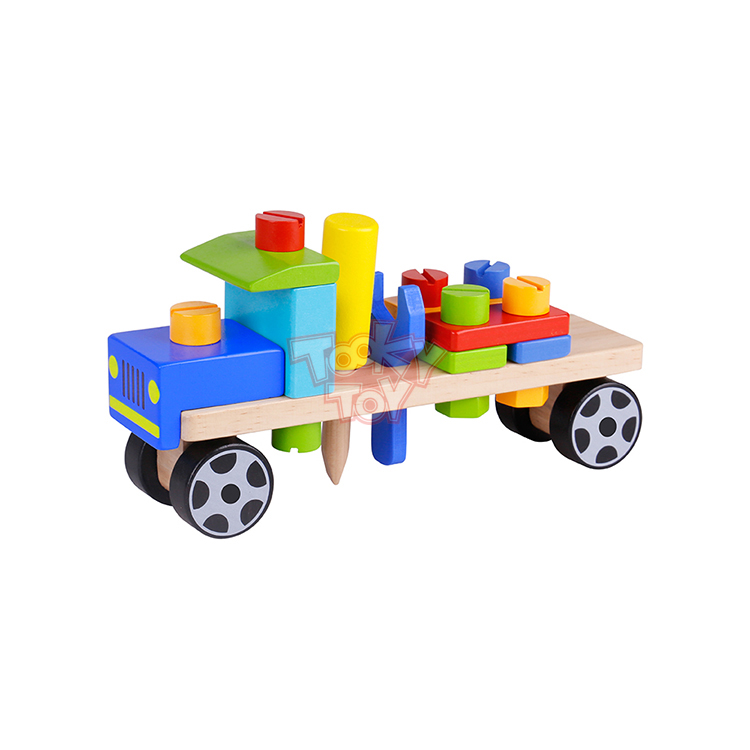 Kids Play Tool Truck Toy Set toys wooden craft cars