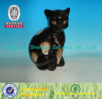Chaozhou fashionable craft ceramic cat