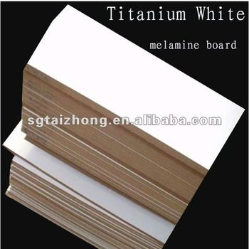 Titanium White Color Melamine Paper Faced Mdf Board - Buy Laminated Mdf  Board,16mm Mdf,Laminated Mdf Board Product on Alibaba com