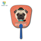Zebulun Wholesale Products Portable Small Cute Dog Device3D Lenticular Manual Hand Fan