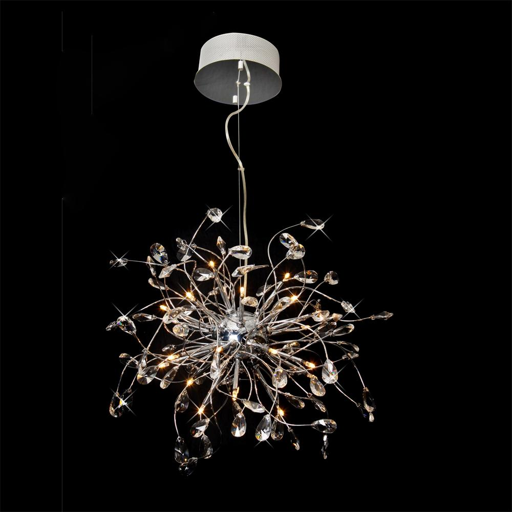 Md6003 24 wholesale price art deco crystal chandelier lighting fixtures for home decoration