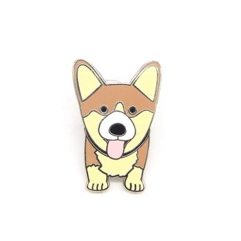 Personalized Emoji Dog Lapel Pins,Hard Enamel Lapel Pins  Manufacturers,Making Custom Puppy Dog Pins - Buy Dog Pins,Puppy Pins,Dog  Lapel Pins Product