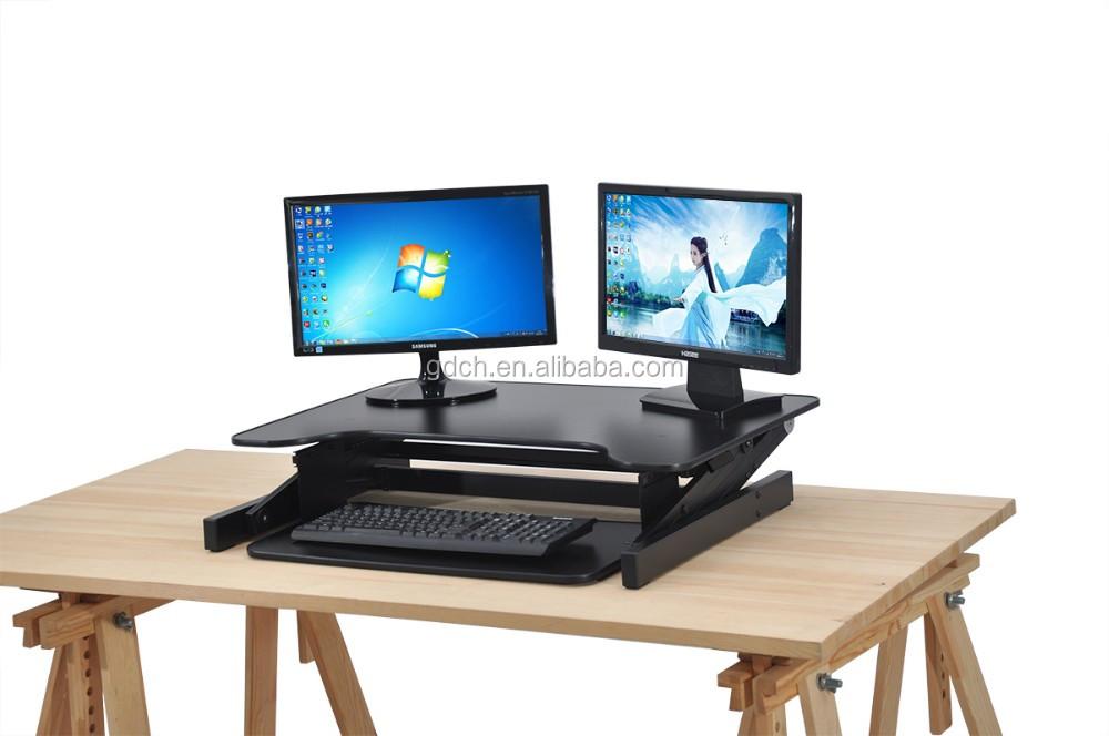Mdf Hohenverstellbar Schreibtisch Computermonitor Stander Bauen Sie