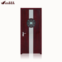 Fashion design exterior fiberglass doors interior bathroom aluminum doors