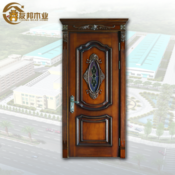 Australia Standard Apartment Interior Office Wooden Doors With Glass