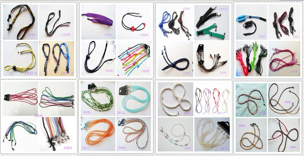 promotional reading glasses cord Eyewear Chain rope eyewear retainer
