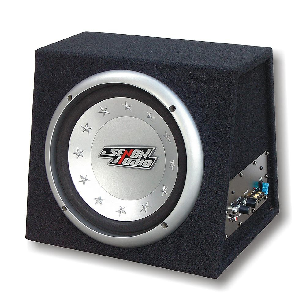 12 Inch Active Car Audio Powered Subwoofer Box System Built In