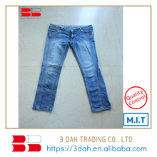 Gli uomini di Blue <span class=keywords><strong>Jeans</strong></span> Pantaloni all'ingrosso Indumenti usati