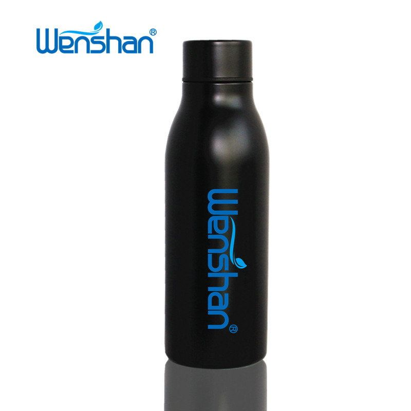 Stainless steel vacuum insulated sports water bottle flask 600ml