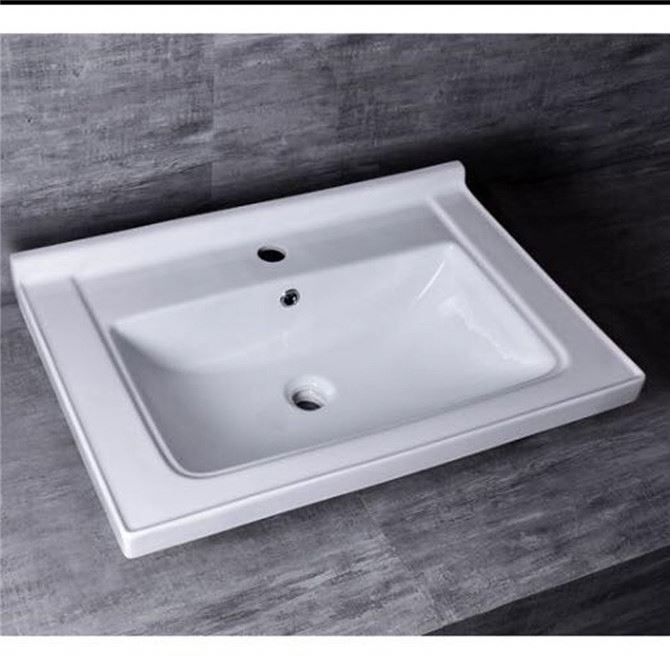 Low Price Ceramic Sink Bathroom Basin Set