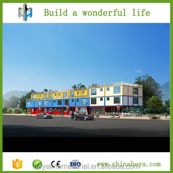 2016 Double-floor container building houses.