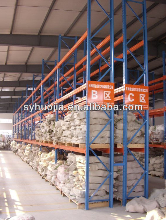 China factory manufacture warehouse storage racking heavy duty rack