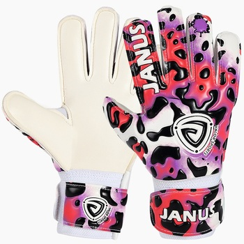 Custom Junior Goalkeeping Gloves With Finger Protection Youth Kids