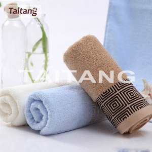 100% cotton pure white embroidered luxury high quality factory price printed microfiber towel