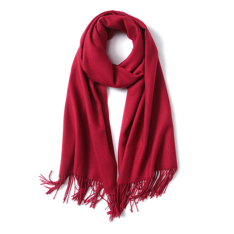 Scarves Cashmere Cape Surface Winter Warm Scarf Nepal Pashmina Shawls Soft Female Tassel Cashmere