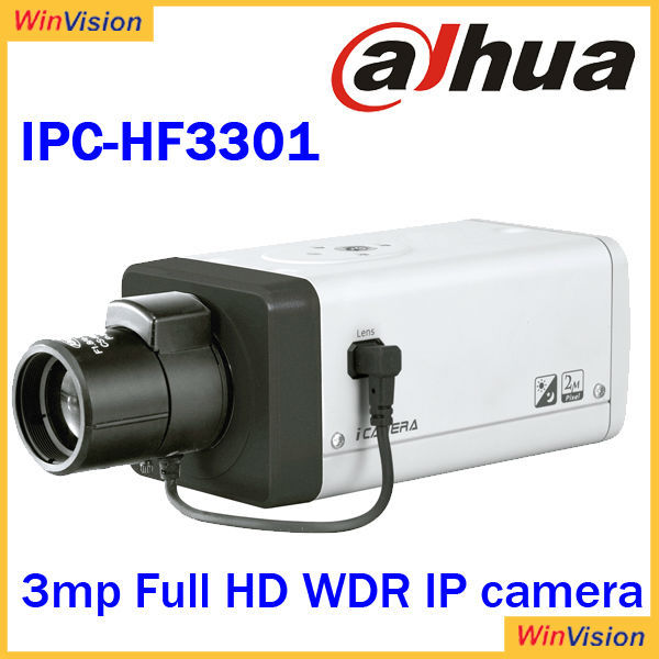 dahua dvr camera with sd card and poe ipcamera IPC-HF3301