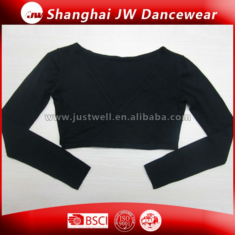 Professional Fantastic Wholesale Long Sleeve Dance Tops Shrugs