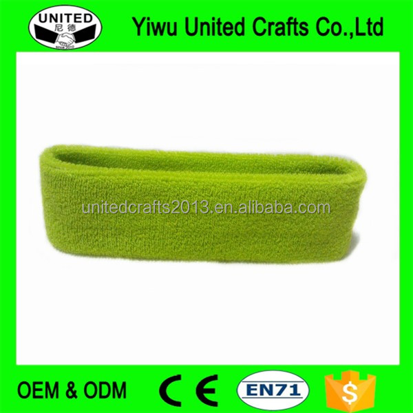 2016 promotional gift wholesale sport kids head sweatbands
