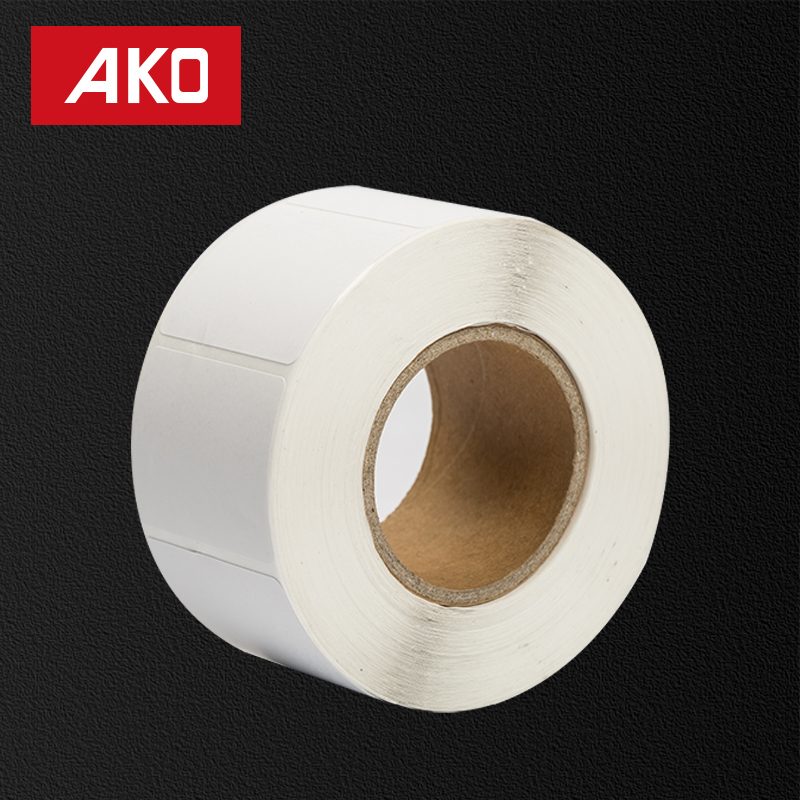 OEM Accept Silicone Coated Glassine Paper self adhesive sticker paper rolls