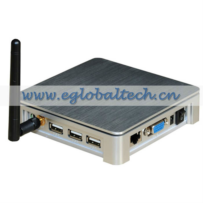 Wi-fi computing pc with Green LED Max 1440*900 network terminal equipment 800MHz CPU,Windows CE thin client