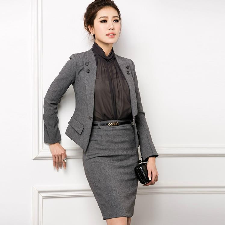 Ladies Formal Skirt Suit, Ladies Formal Skirt Suit Suppliers and ...