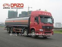 sinotruk 8*4 24cbm auxiliary Fuel Tank Truck