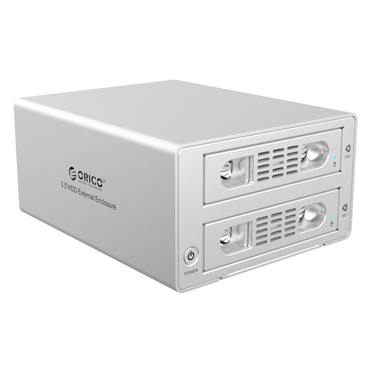 Buy Orico 3529nas Dual Bay Sata Raid Rj 45 Usb 30 Network Lan 6629us3 C To External Hdd Docking Station 35 Hard Disk Esata 0 1 Silver 3529rus3