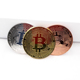 Wholesale gold silver copper bitcoin coin hot sell high quality bitcoin