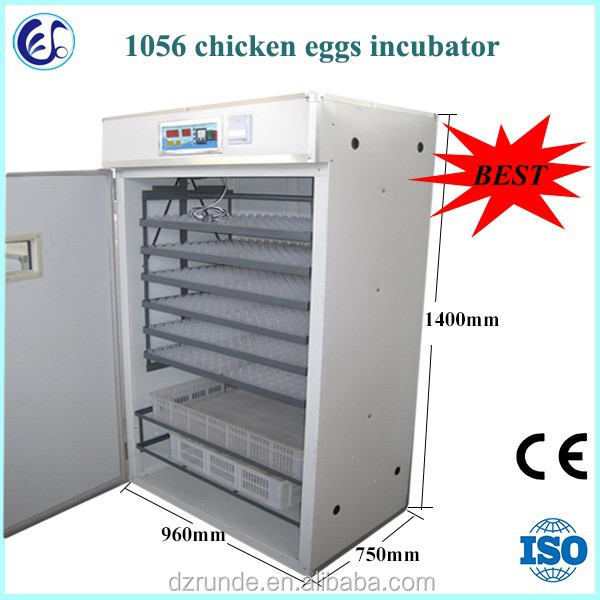 RD-1056 full automatic chicken egg incubator hatching machine price for 1000 eggs