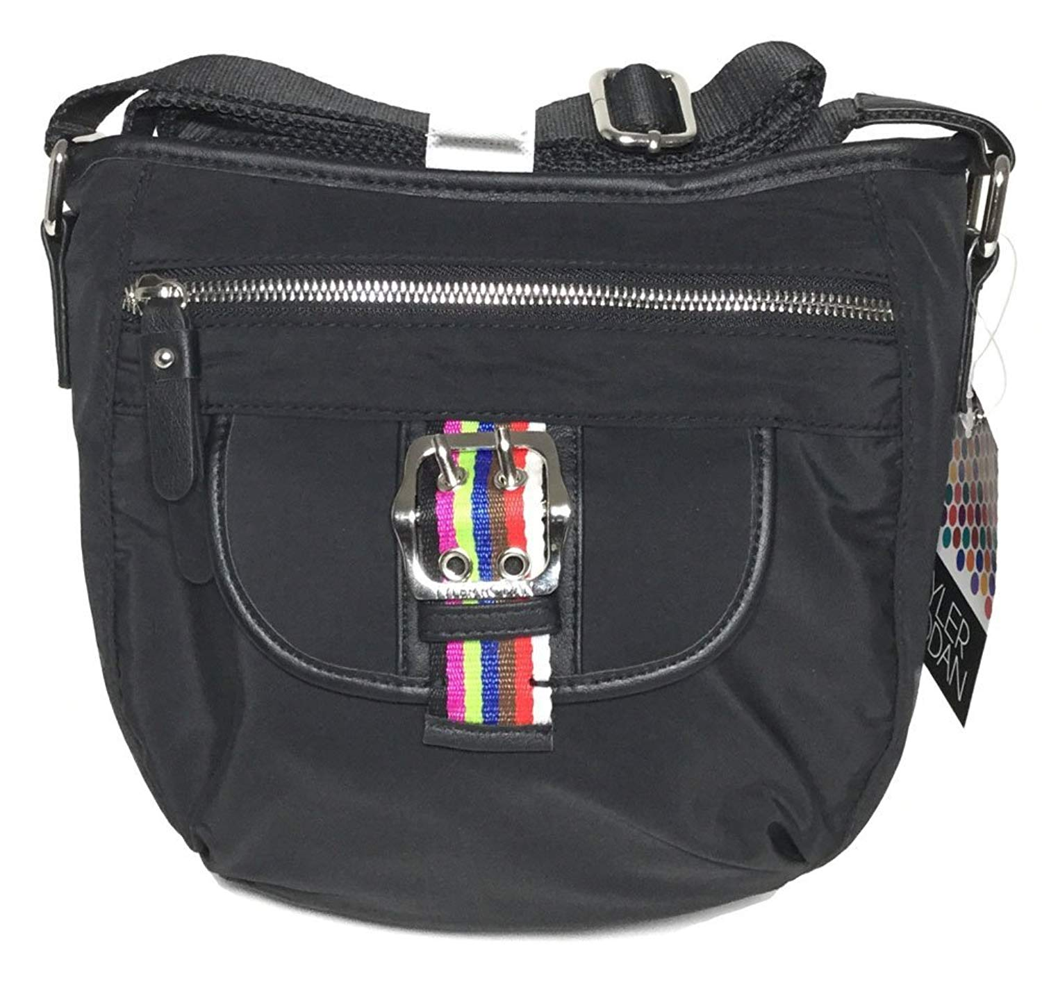 47f4fca60765 Tyler Rodan Black Oxford Mid Cross Body