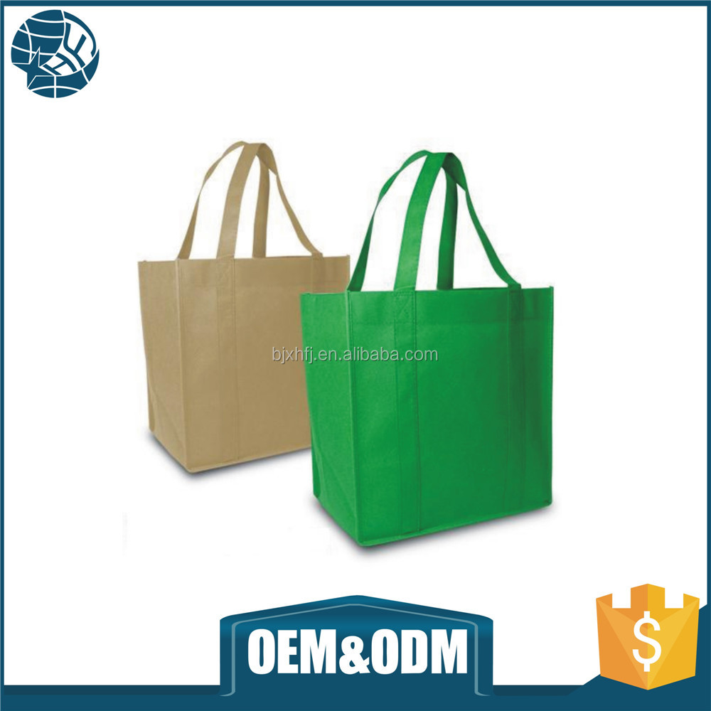 Fashionable promotional non woven gift bags with custom logo print