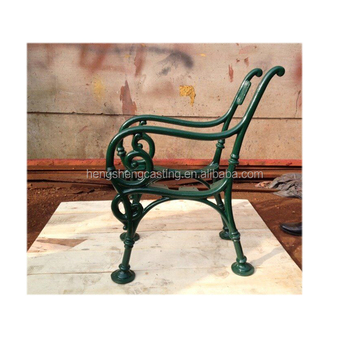 Decorative Garden Iron Bench Legs