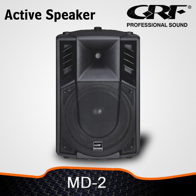 "GRF active 10"" plastic speakers"
