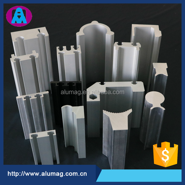 6000 series Aluminum Extrusion structural profiles with factory price