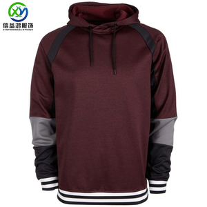 2019 Fashion 80% Cotton 20% Polyester pullover winter fleece dry fit mens hoodies