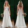Bridal Lace Wedding Stunning Lace Dress Long with Train - Cathedral Elegant Wedding Dress