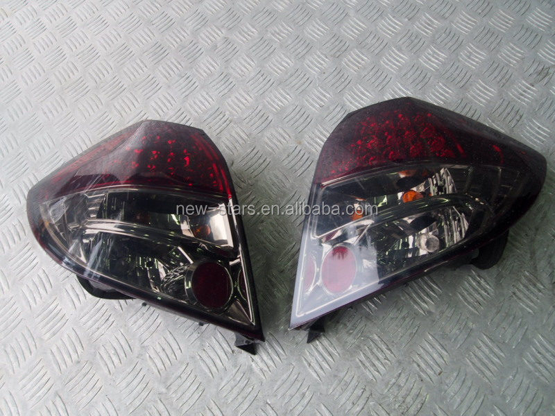 USED JDM LED Rear Taillights Lamps OEM for 07-13 Fit Jazz GE6 GE8 RS L15A