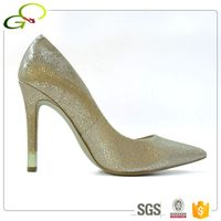 GC001 women blingbling leather shoes ladies dress shoes evening ladies shoes