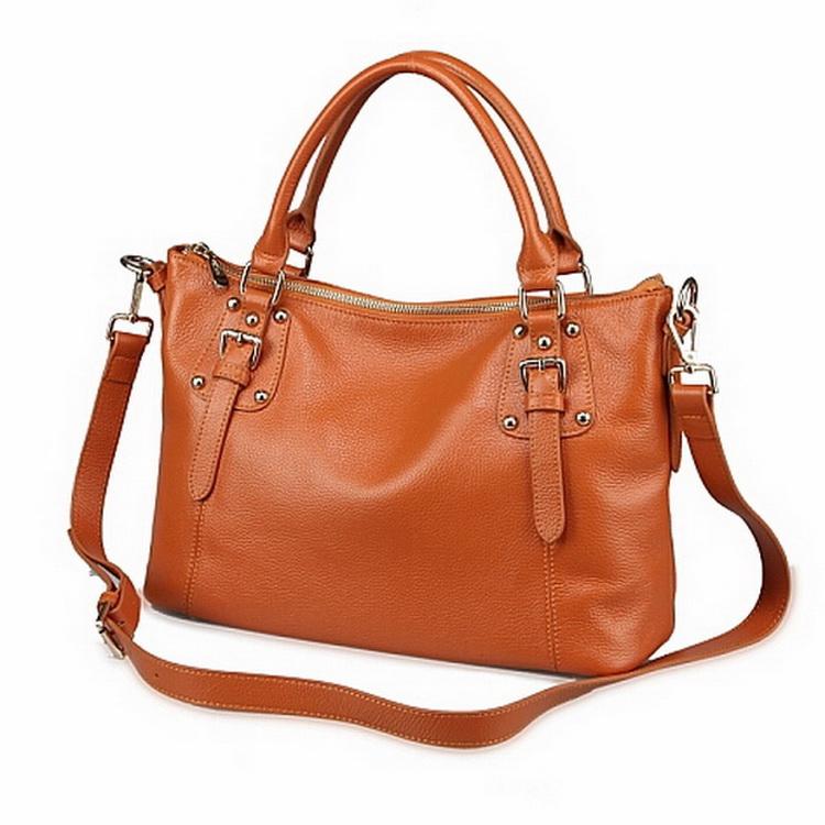 ed7cb09730 Get Quotations · Women Handbag 2015 Ladies Genuine Leather Bags Handbags  Women Bags Messenger Rivet Bags Women Real Leather