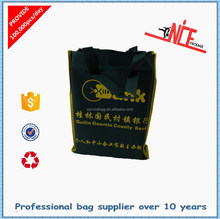 Folding recycle non woven shopping bag
