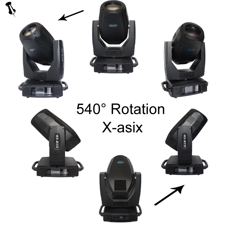 14 color+ white  330w moving head 15r beam lights