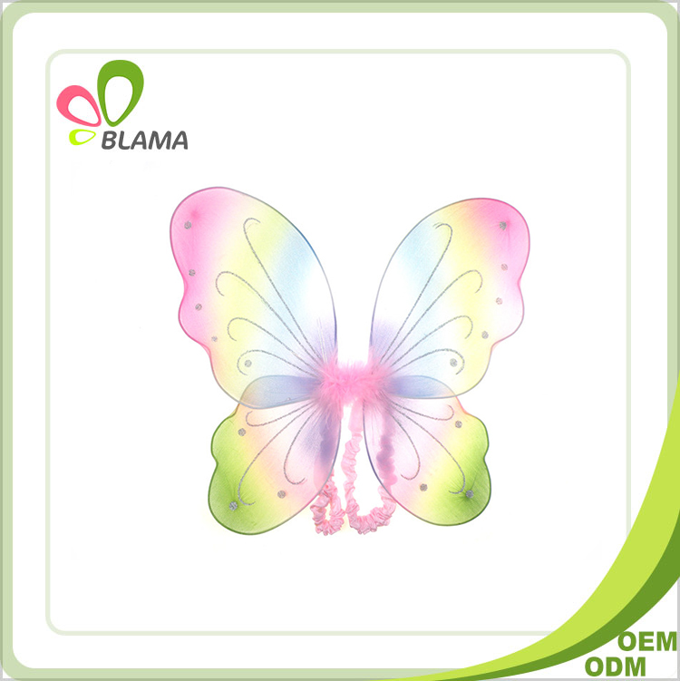 guaranteed quality unique party decoration suppliers colorful butterfly wings