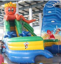 manufacturer giant adult toys inflatable adverting inflatable bounce house, inflatable Octopus water slide