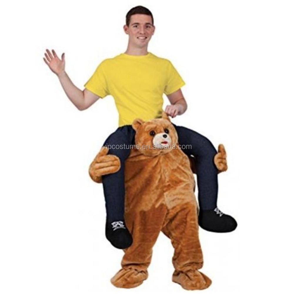 mejor calidad me lleve traje de osocarry me trajetraje divertido para adultos