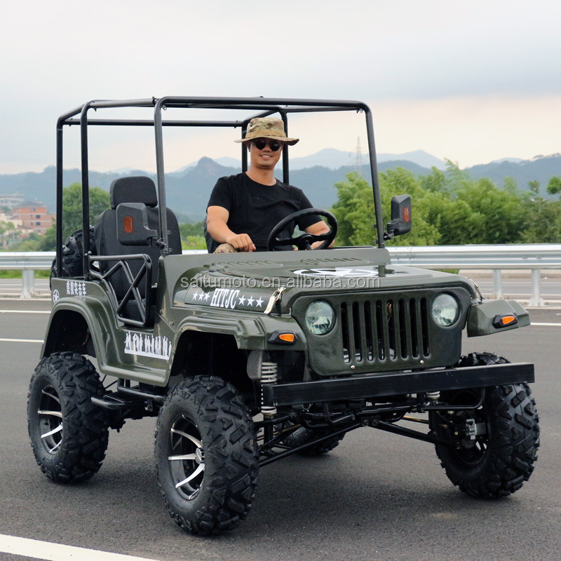 250cc mini jeep willys atv farm vehicle quad utv gas powered four wheel motorcycle for sale