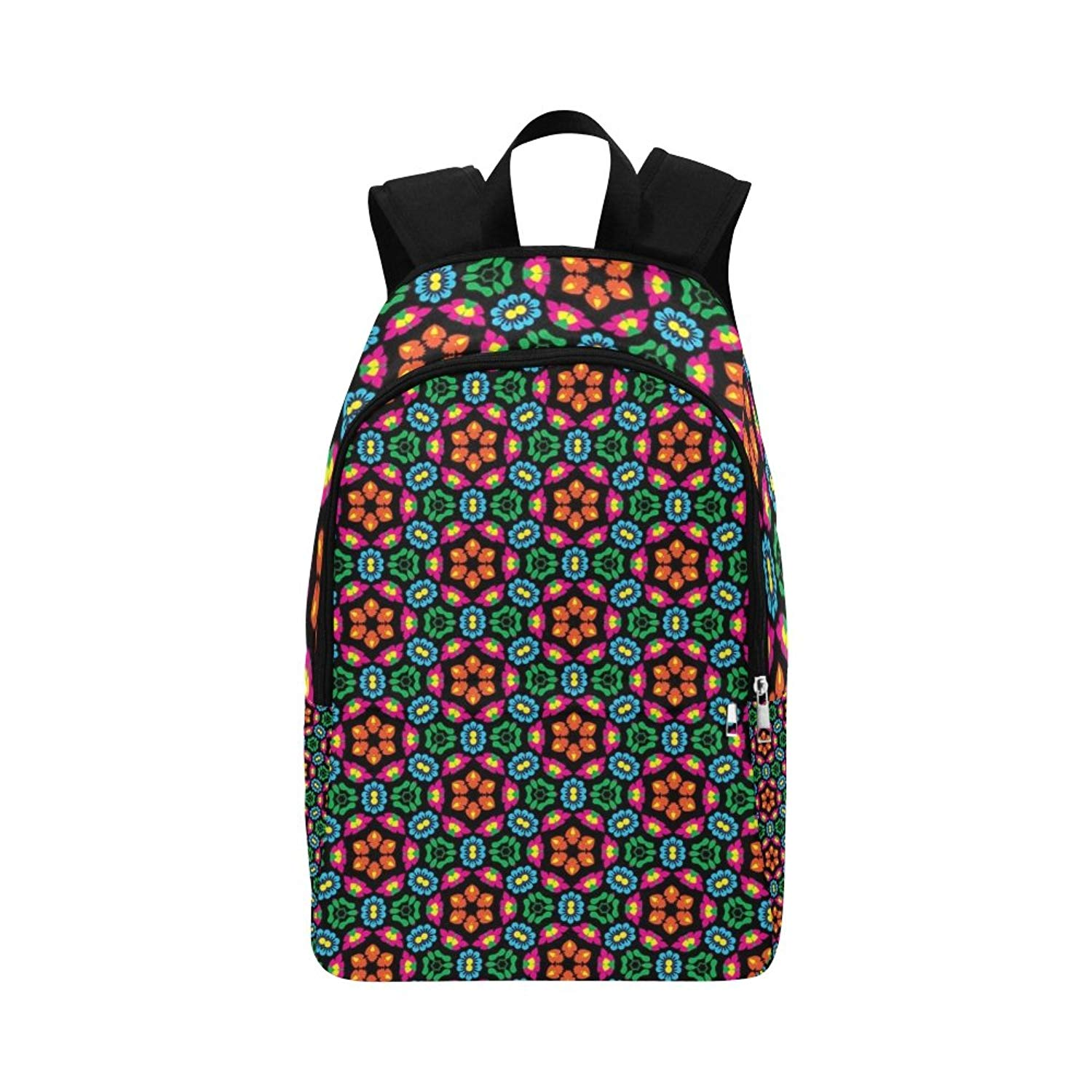 Texture Structure Pattern Abstract Unique Custom Outdoor Shoulders Bag Fabric Backpack Multipurpose Daypacks For Adult
